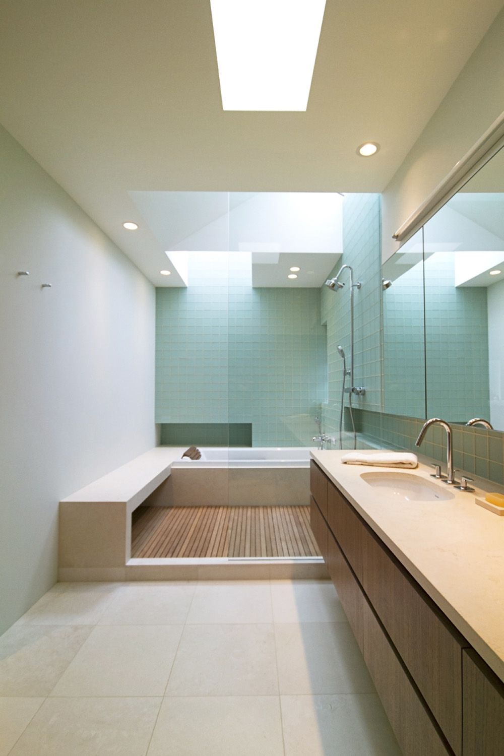 bathroom remodel in Medina, WA by SHED Architecture & Design