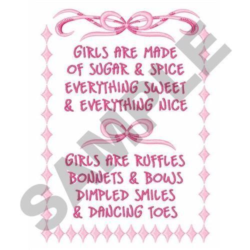 cute girl poems short