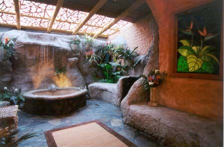 peaceful ideas waterfall showers. Waterfalls  garden shower and jacuzzi at the Peace Lodge Hotel Costa Rica