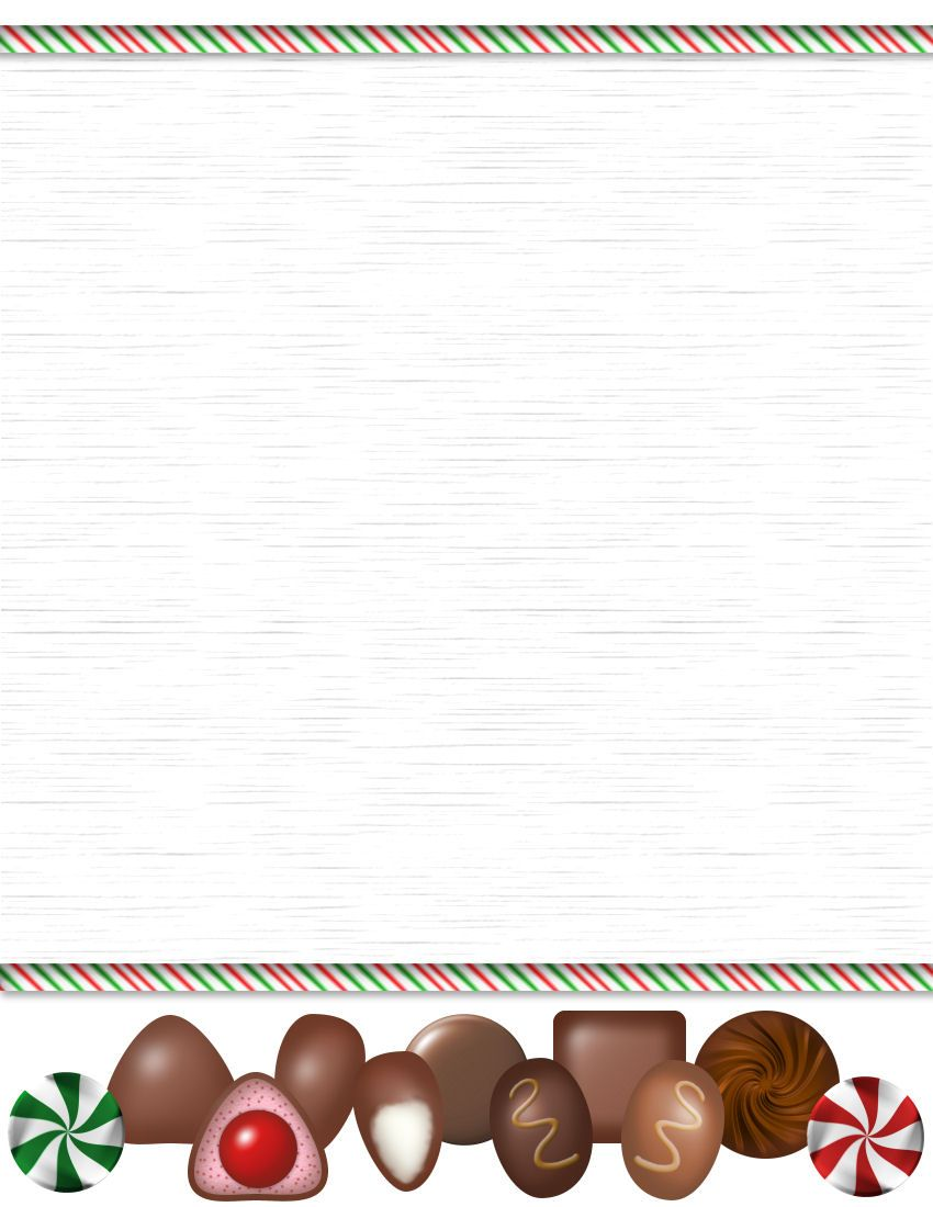 holiday letterhead templates for word