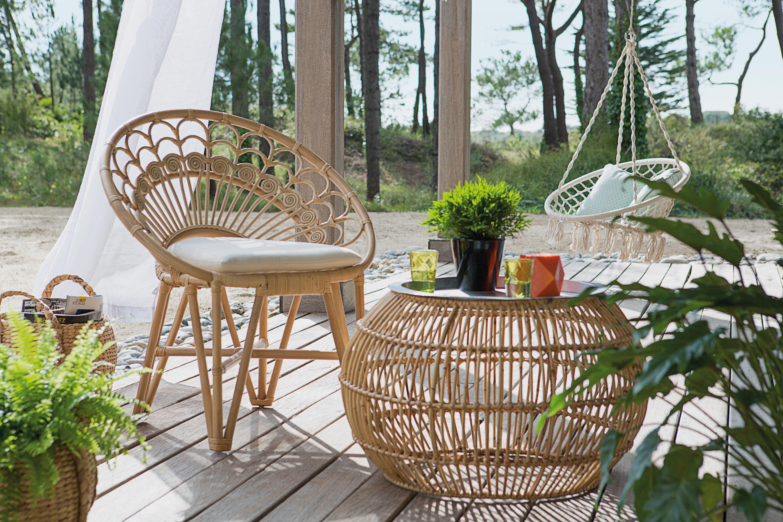 redoutable salon de jardin rotin | Décoration française | Outdoor ...
