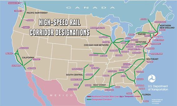 Whats the Cost of a Rail Transit Project High speed rail and