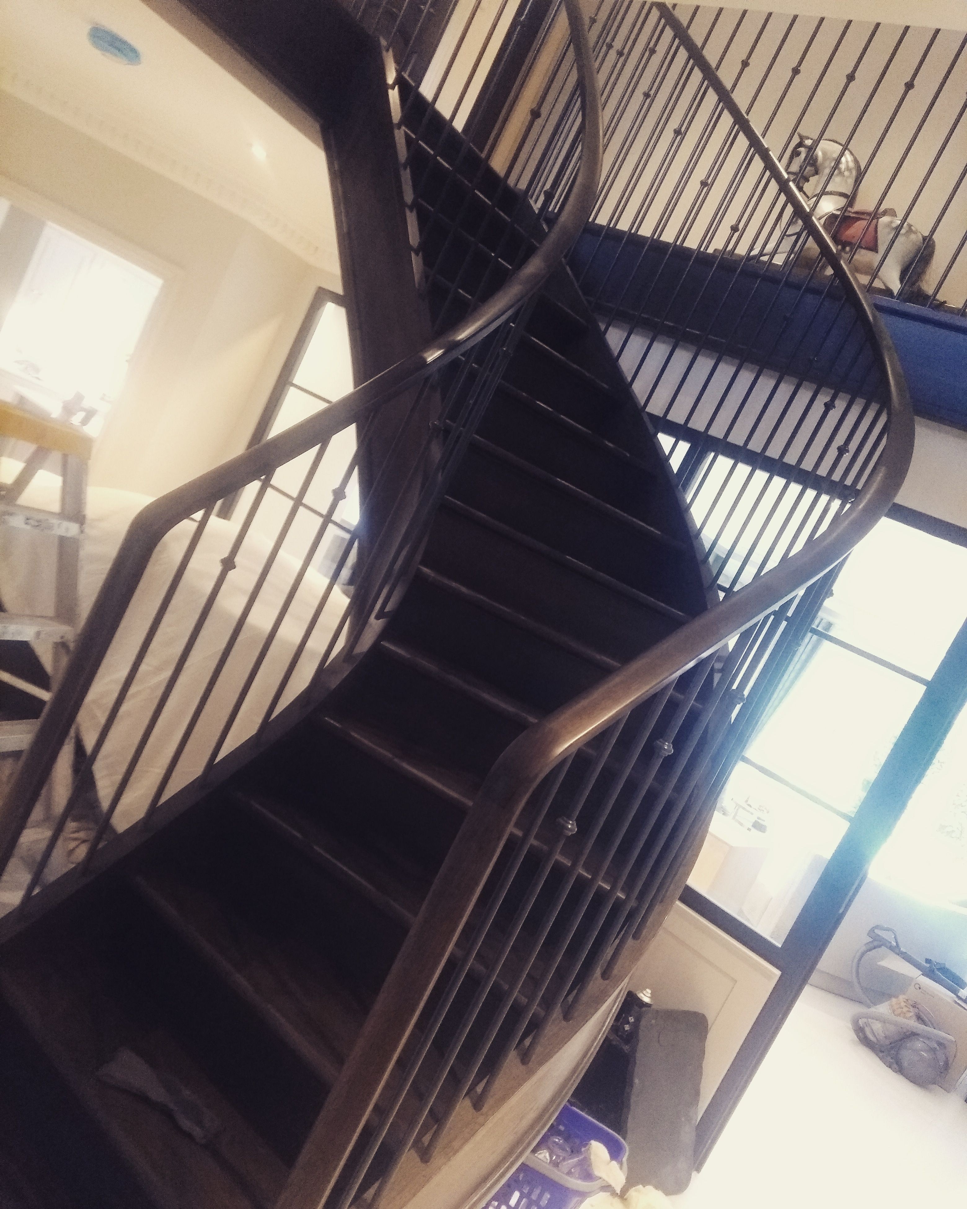 Best Fully Curved Staircase In Camberley With Images Curved 400 x 300