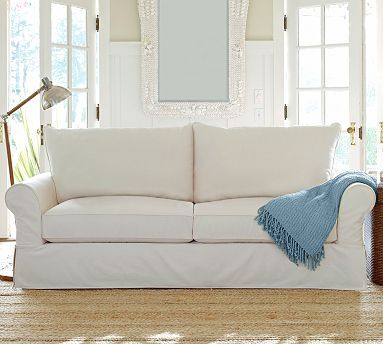 Pb Comfort Grand Slipcovered Sofa Potterybarn