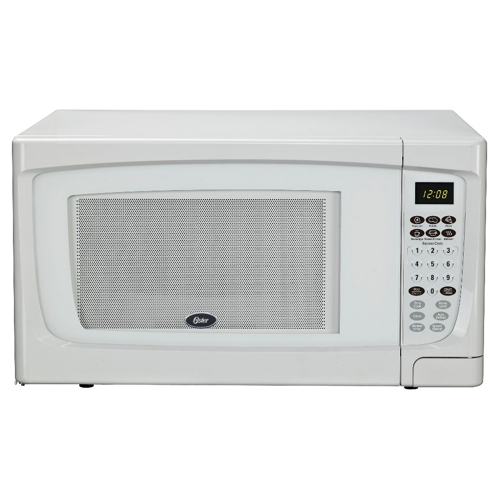 Oster 1 6 Cu Ft 1100 Watt Microwave White Ogcmr416bk 11 With Images Countertop Microwave