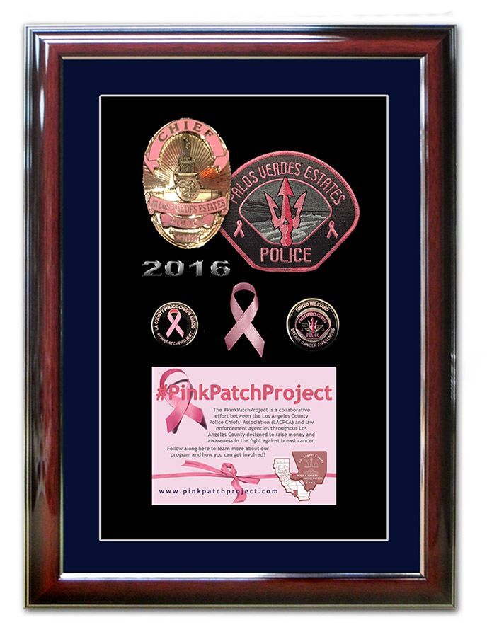 Pink Patch Project - South Gate PD | Pink Patch Projects from Badge ...