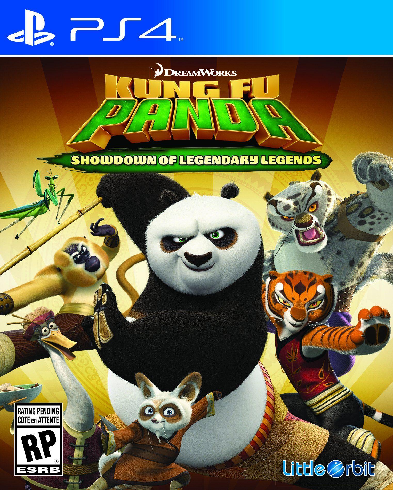 Kung Fu Panda Showdown of Legendary Legends PlayStation