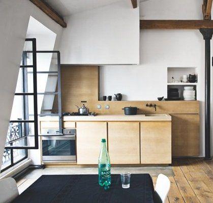 Minimal rooftop loft - via Coco Lapine Design
