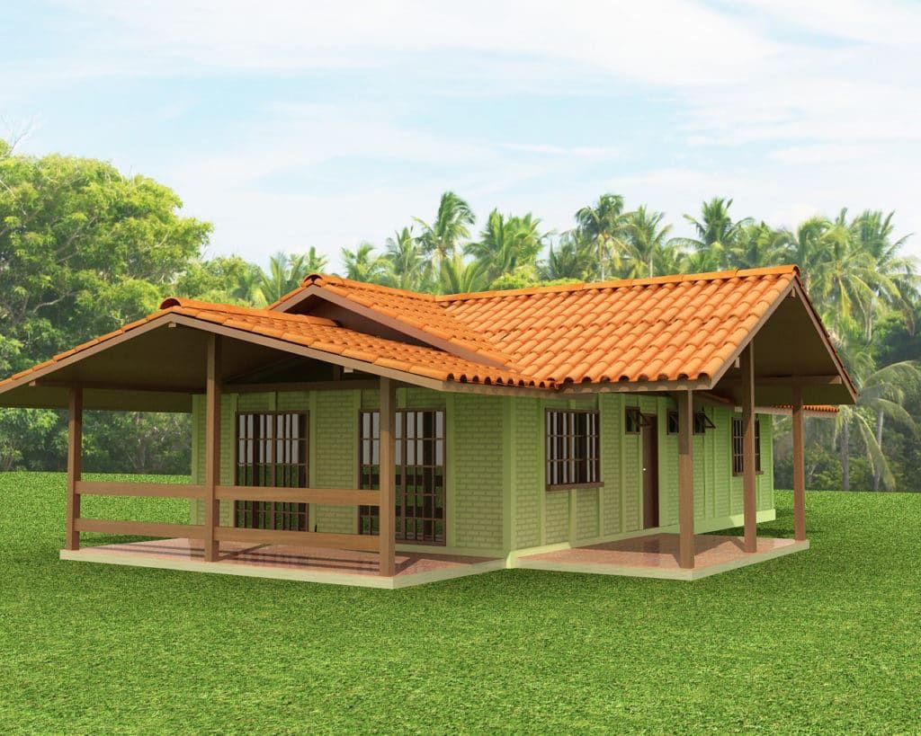 Base Forte Casa Pré Fabricada Em Concreto De 91 Módulos