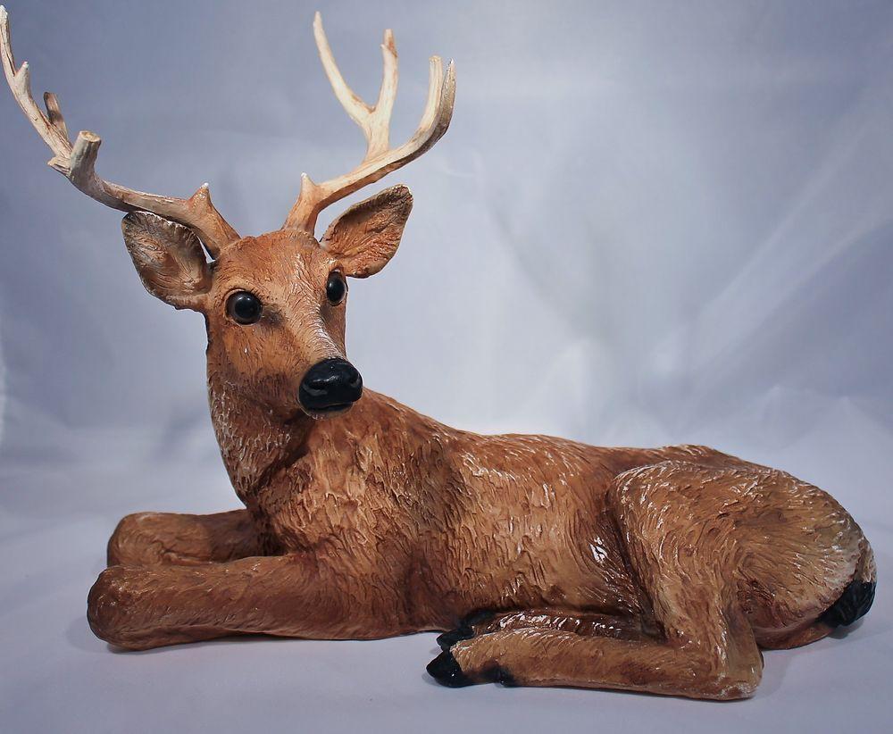 Home Interior Homco Deer Buck 1984 Figurine #Homco