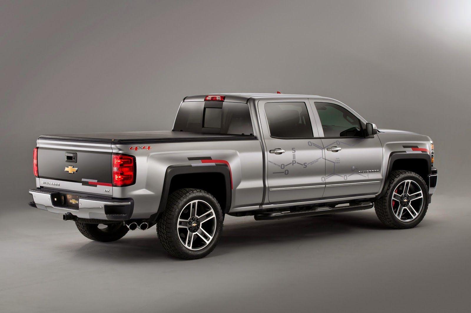 Truck chevy concept truck reaper : 2015 Chevrolet Silverado Toughnology Concept Truck Debut   Richard ...