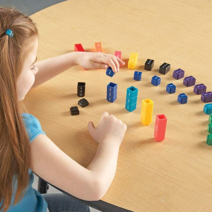 Learning Resources Learning Resources& Fraction Tower& Fraction Cubes ,