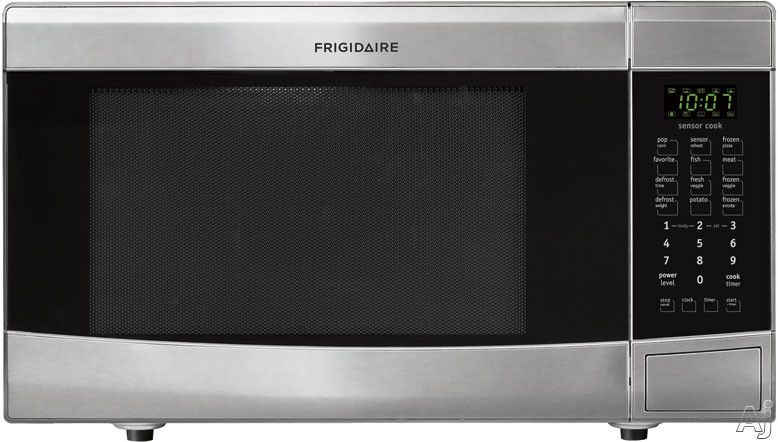 Frigidaire Ffmo1611ls 1 6 Cu Ft Countertop Microwave Oven With 1 100 Cooking Watts 1 Countertop Microwave Oven Countertop Microwave Stainless Steel Microwave