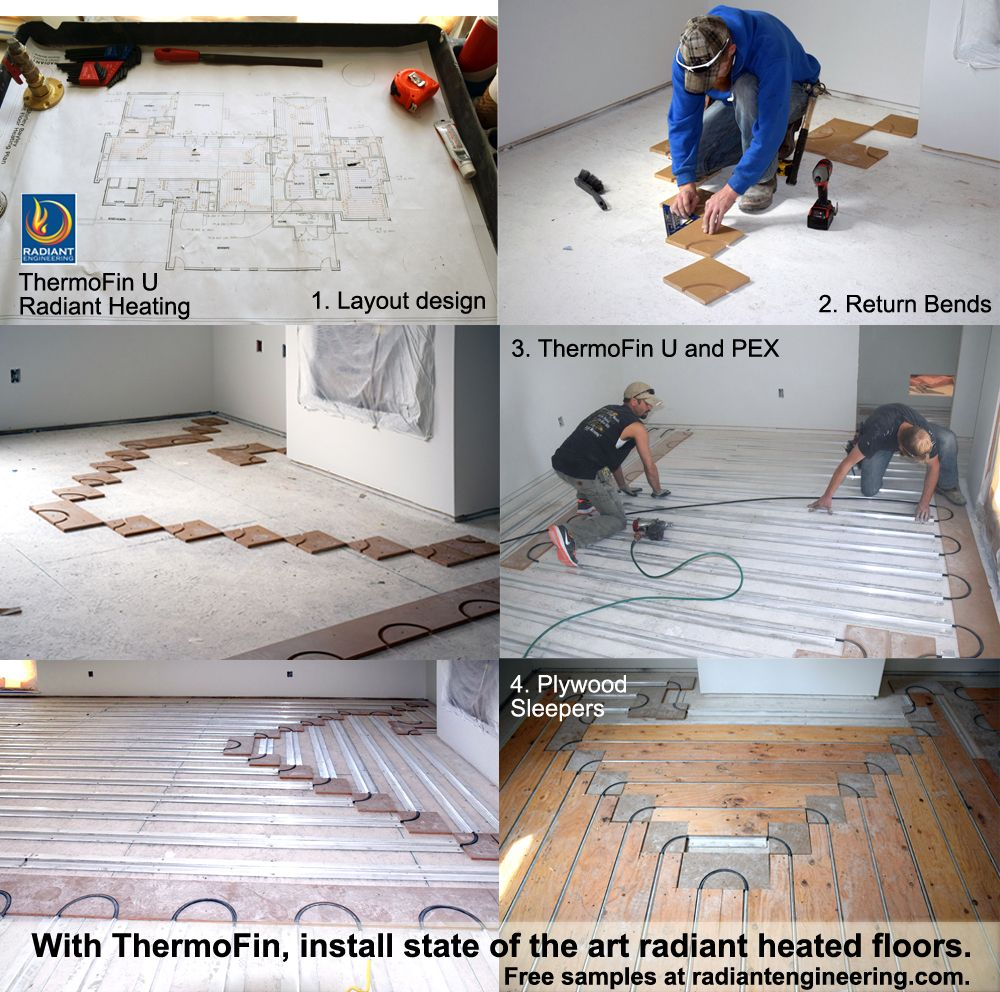 Pin By Radiant Design Supply Inc On Thermofin Heated Floors Radiant Heating System Radiant Heat