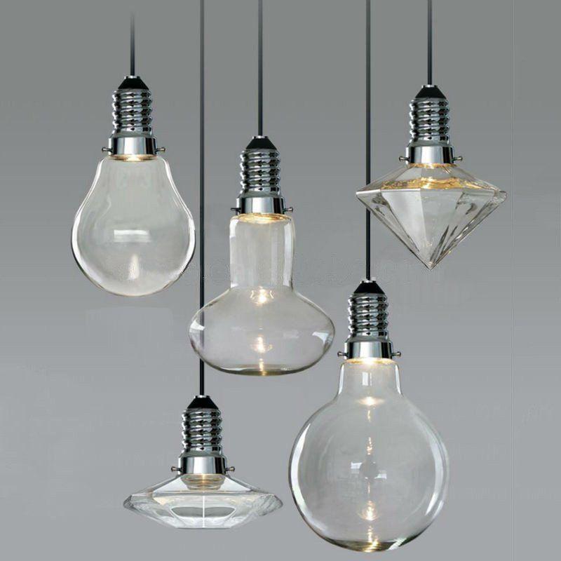 Cancri Glass Bulb LED Pendant Light Lighting Fixtures Pinterest - Individual pendant lights