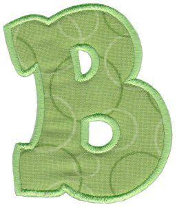 Monkey Friends Applique Blocks | letters | Applique letters