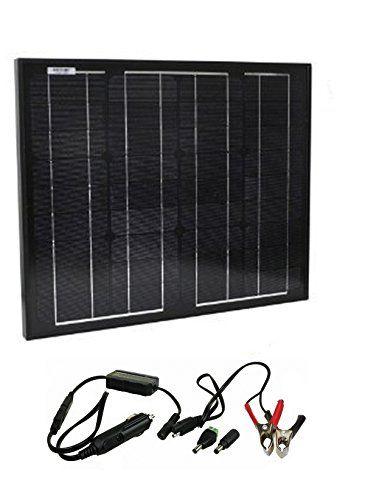 Instapark 30 Watt Solar Powered Battery Charger For Instapark Mars20s Drpp600 Powerpack Series Solar Power Batteries Solar Power Battery Charger Solar Panels