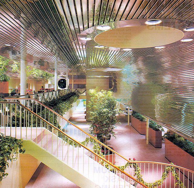 Decoratingwithhouseplants Alcan Metal Ceilings