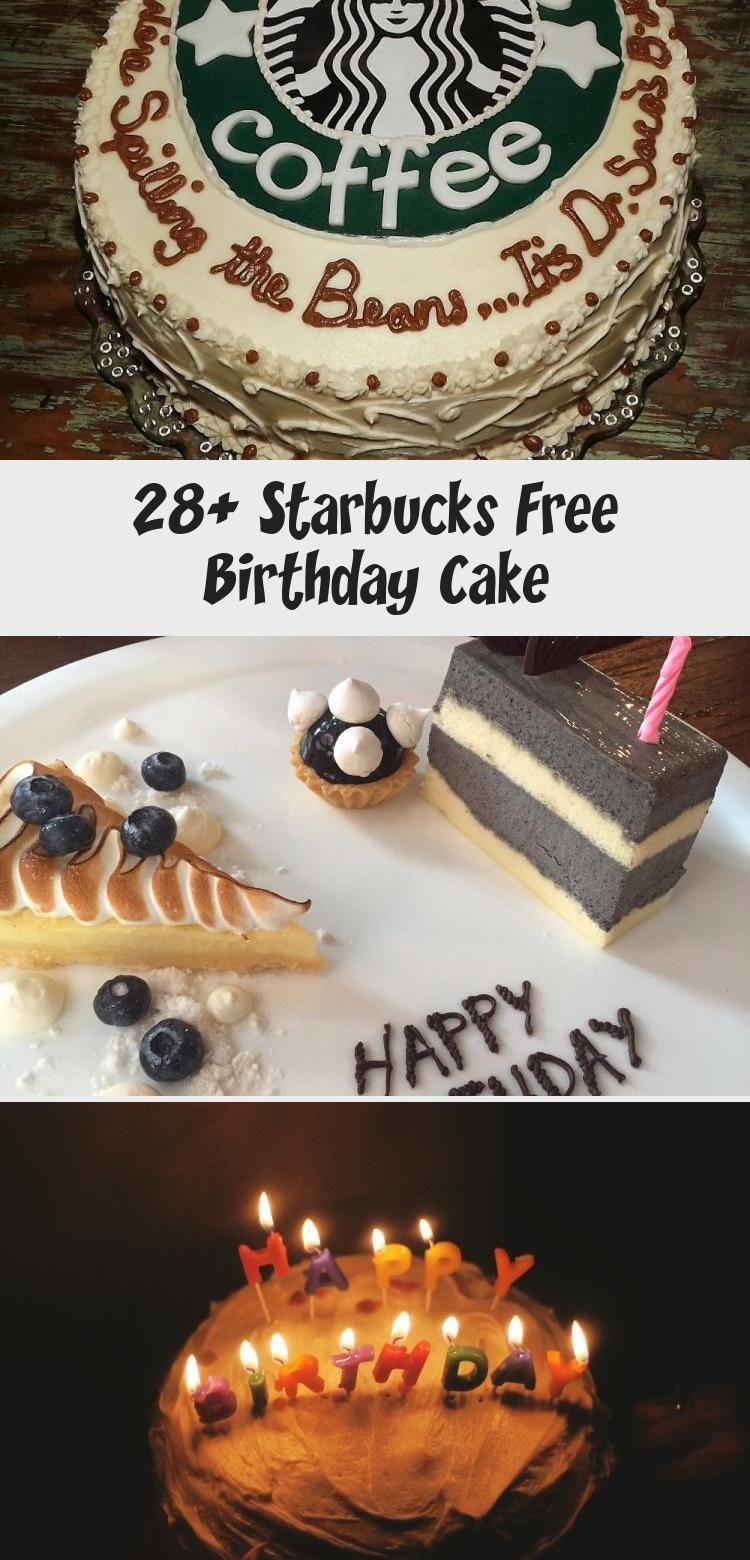 28+ Starbucks Free Birthday Cake Birthday cake
