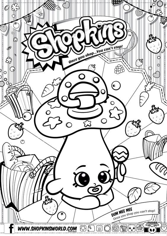Shopkins Strawberry Colouring Pages Paginas Para Colorir Pintura Para Criancas Desenhos Para Colorir Adultos
