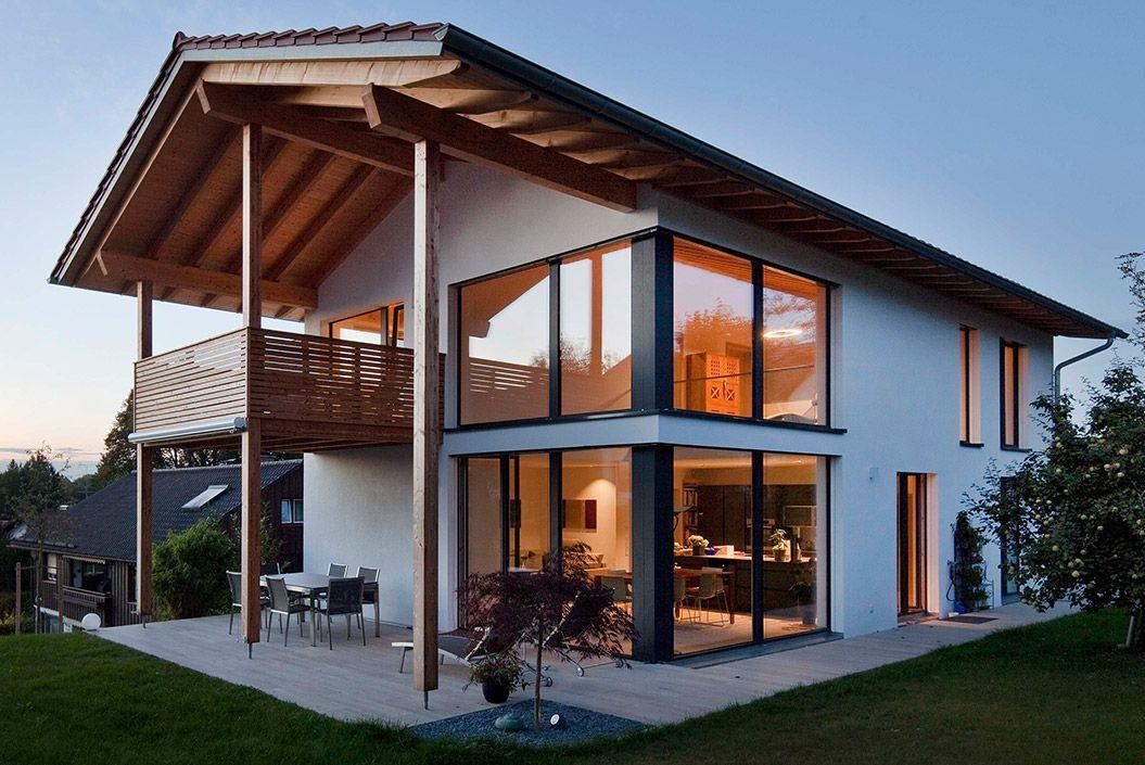 passivhaus oberhaching haus pinterest haus haus bauen und einfamilienhaus. Black Bedroom Furniture Sets. Home Design Ideas