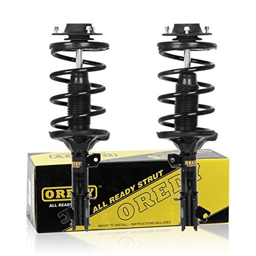 Oredy Front Pair Complete Struts Assembly Shock Coil Spring Assembly Kit Compatible With Hyundai Santa Fe 2001 2002 2003 2004 2005 2006 11283 11284 G57139 G5714 The Struts Toyota Solara Grand Caravan