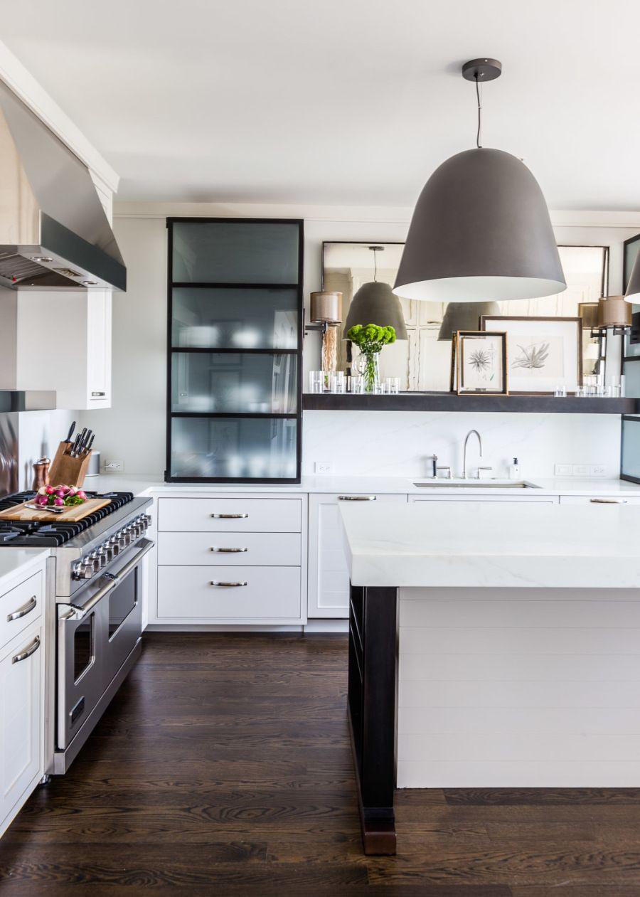 A Chicago Pied A Terre Home Tour Kitchen Renovation Kitchen Remodel Kitchen Design