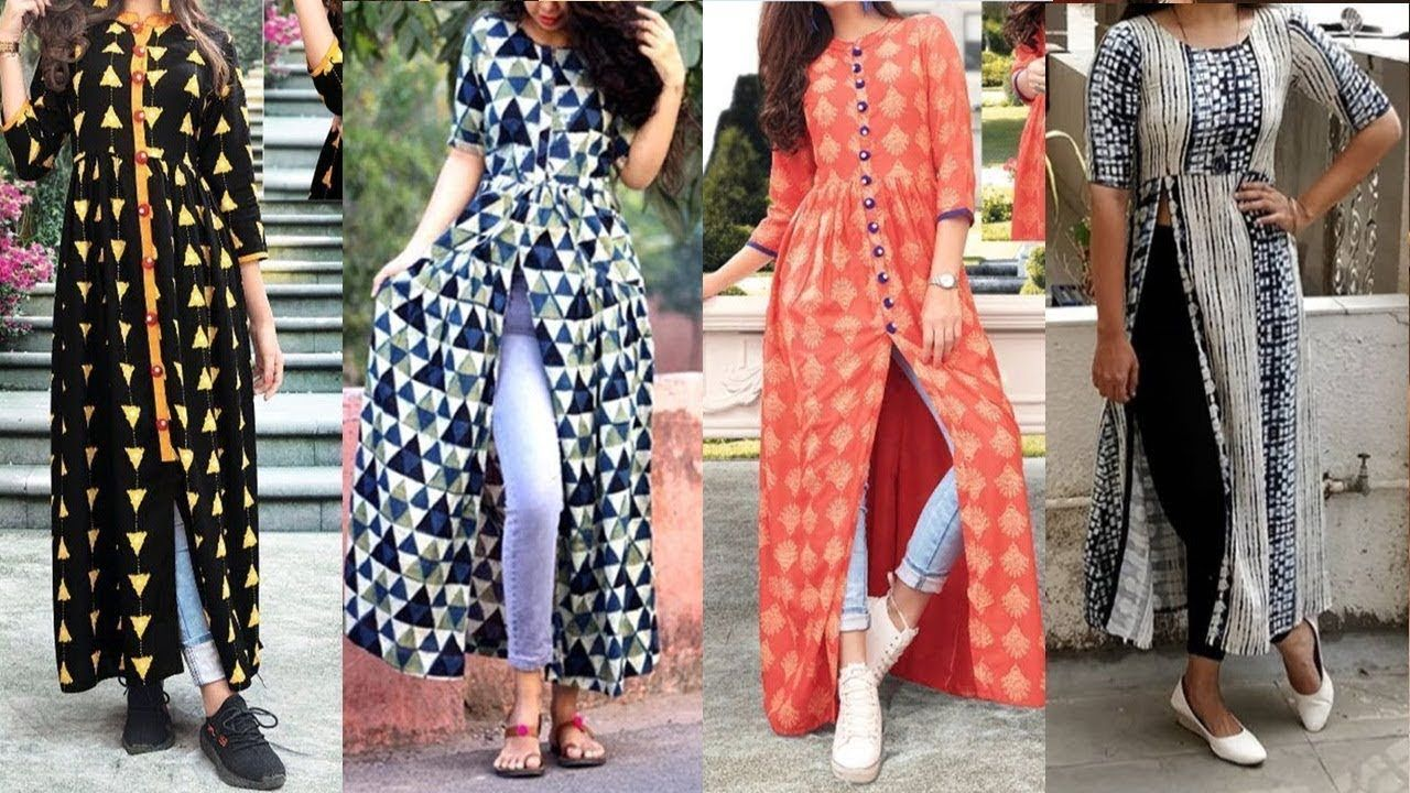 Kurti with jeans kurti for jeans long kurti with jeans new