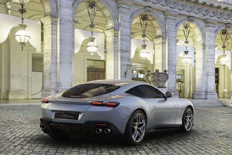 First Look at New Ferrari Roma Coupe That's an Instant Classic #newferrari