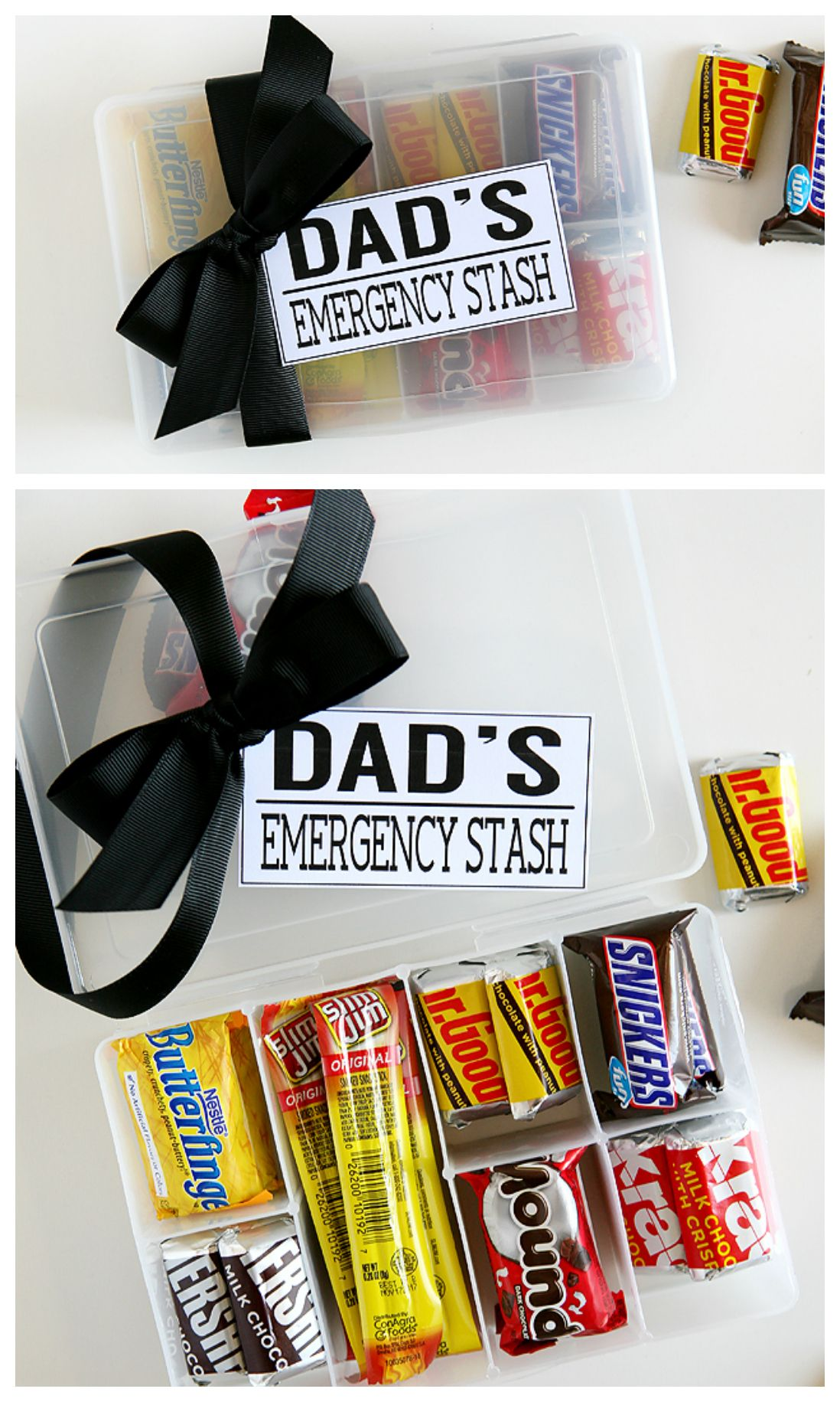 Dad S Emergency Stash Eighteen25 Homemade Gifts For Dad Father S Day Diy Birthday Presents For Dad