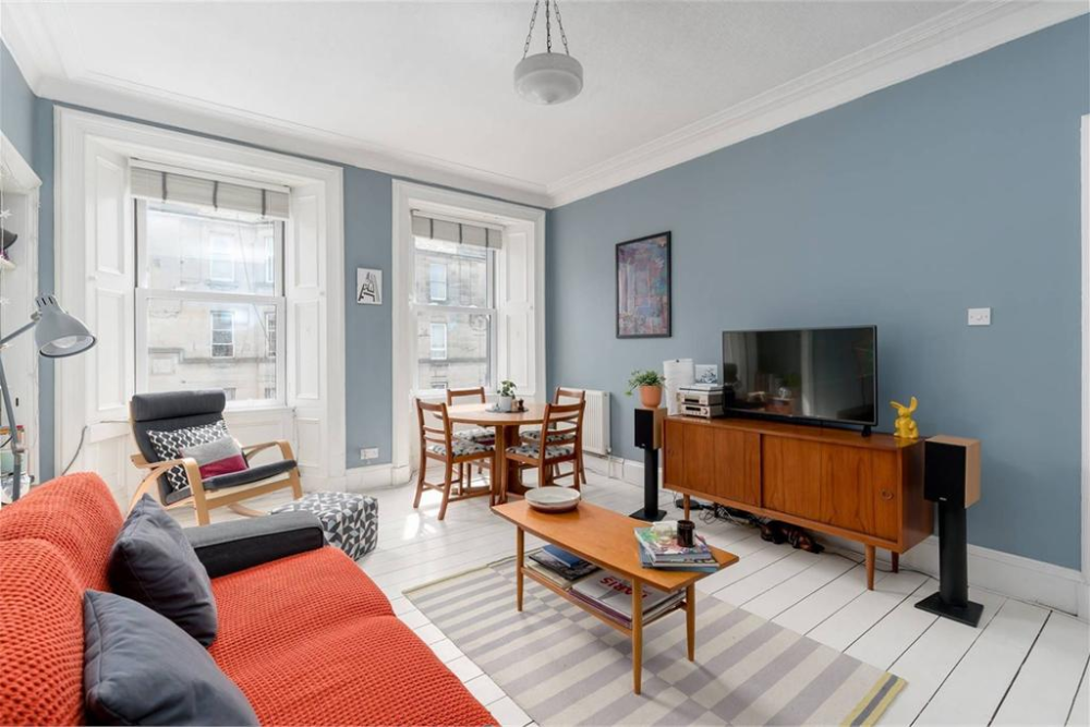 2 Bed Flat For Sale In Abbeyhill Flat 2f2 4 Earlston Place Edinburgh Eh7 5su 2 Bed Flat Top Floor With 1 Reception R In 2020 Find Homes For Sale 2 Bed Flat Home