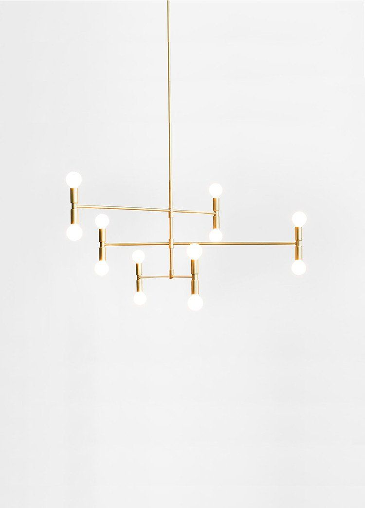 Dot Atomium Chandelier Is Made In Canada By Lambert Fils