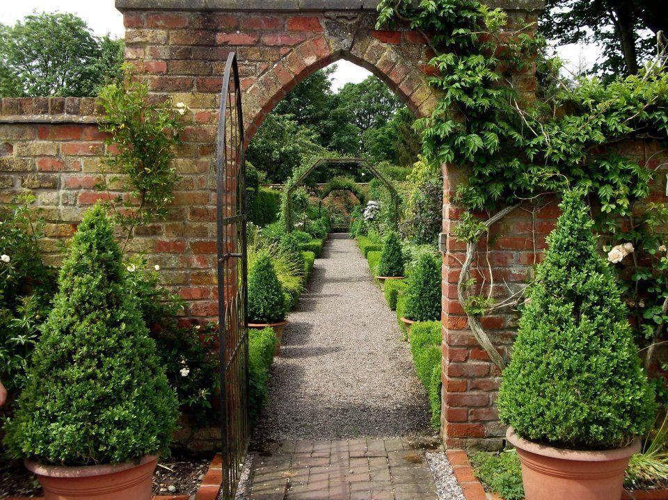 Wollerton Old Hall Garden design, Landscape design
