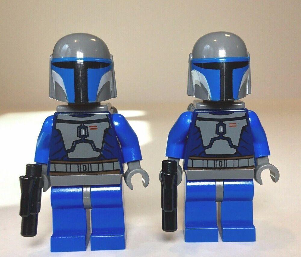 Lego Star Wars Mandalorian Minifigure from set 7914 minifig mini fig mini figure