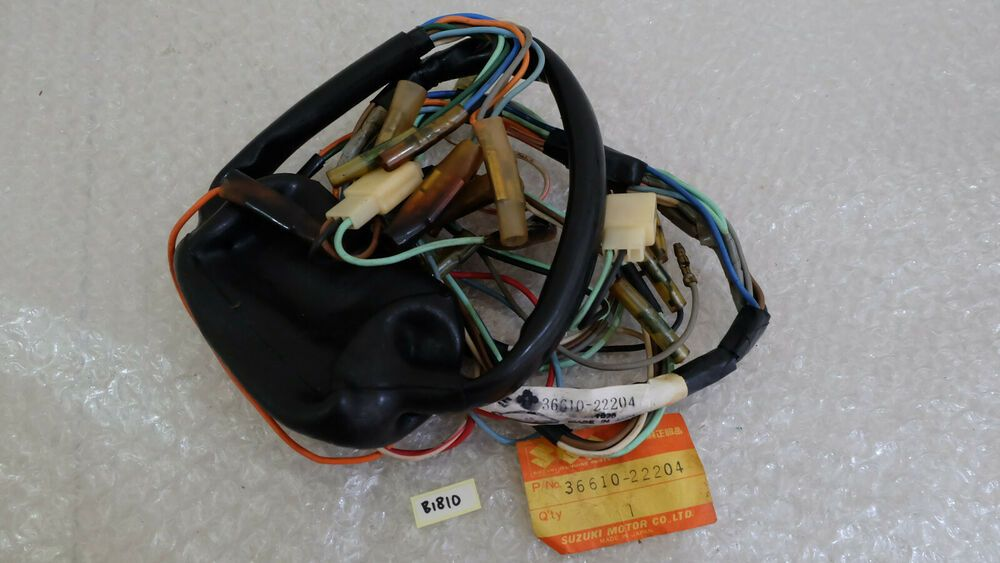 (advertisement ebay) suzuki a50 a50p k50 wiring harness nos japan  36610-22204