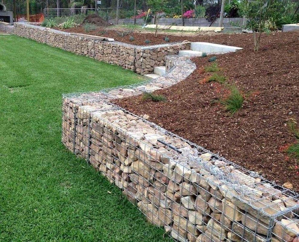 89 Best Gabion Fence Design For Garden Ideas Fence Landscaping