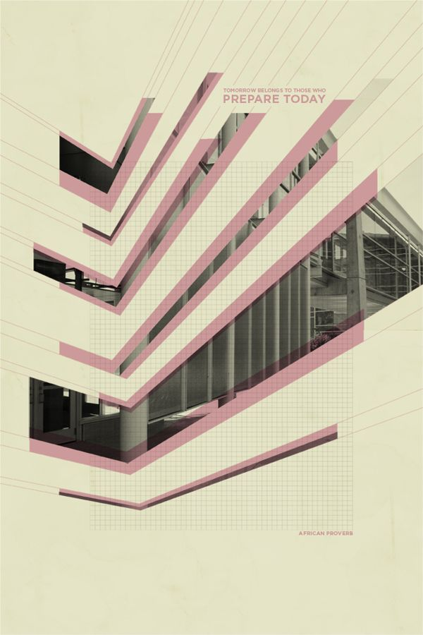 Architectural Abstraction   Seth Lunsford   The First Of Three In A Series  Of Architectural Abstractions. Geometric Graphic DesignGraphic ...