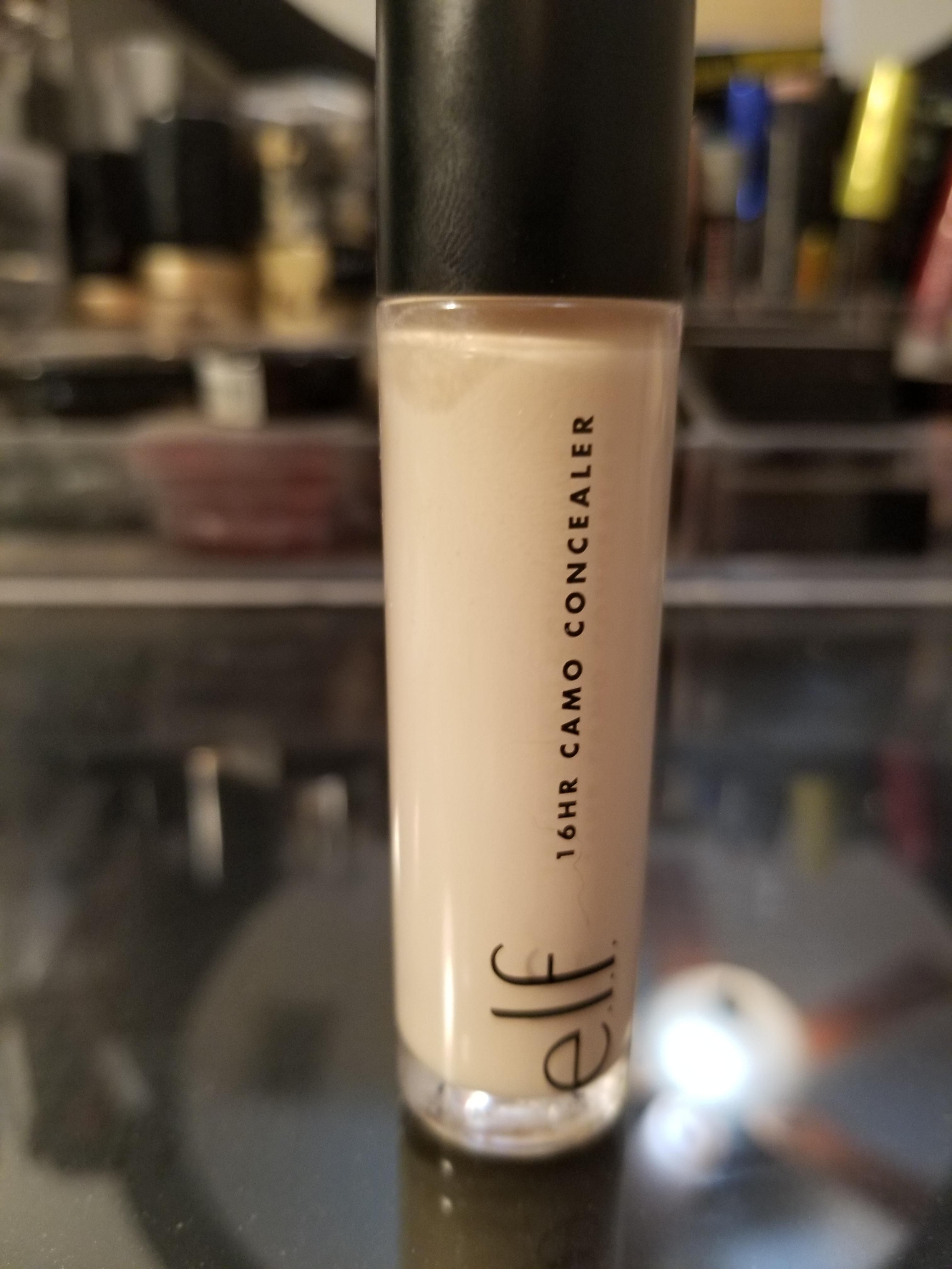 This is THE shape tape dupe. Elf 16 hr Camo Concealer