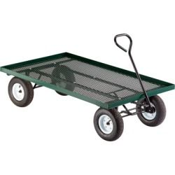 Northern Tool And Equipment Metal Deck Wagon Garden Cart 60in L