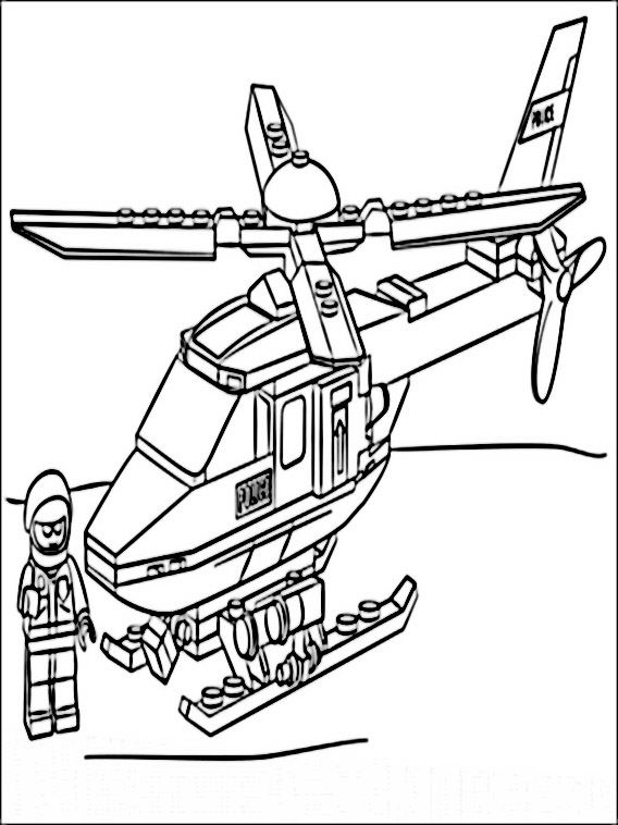 lego policia 1 dibujos faciles para dibujar para niños