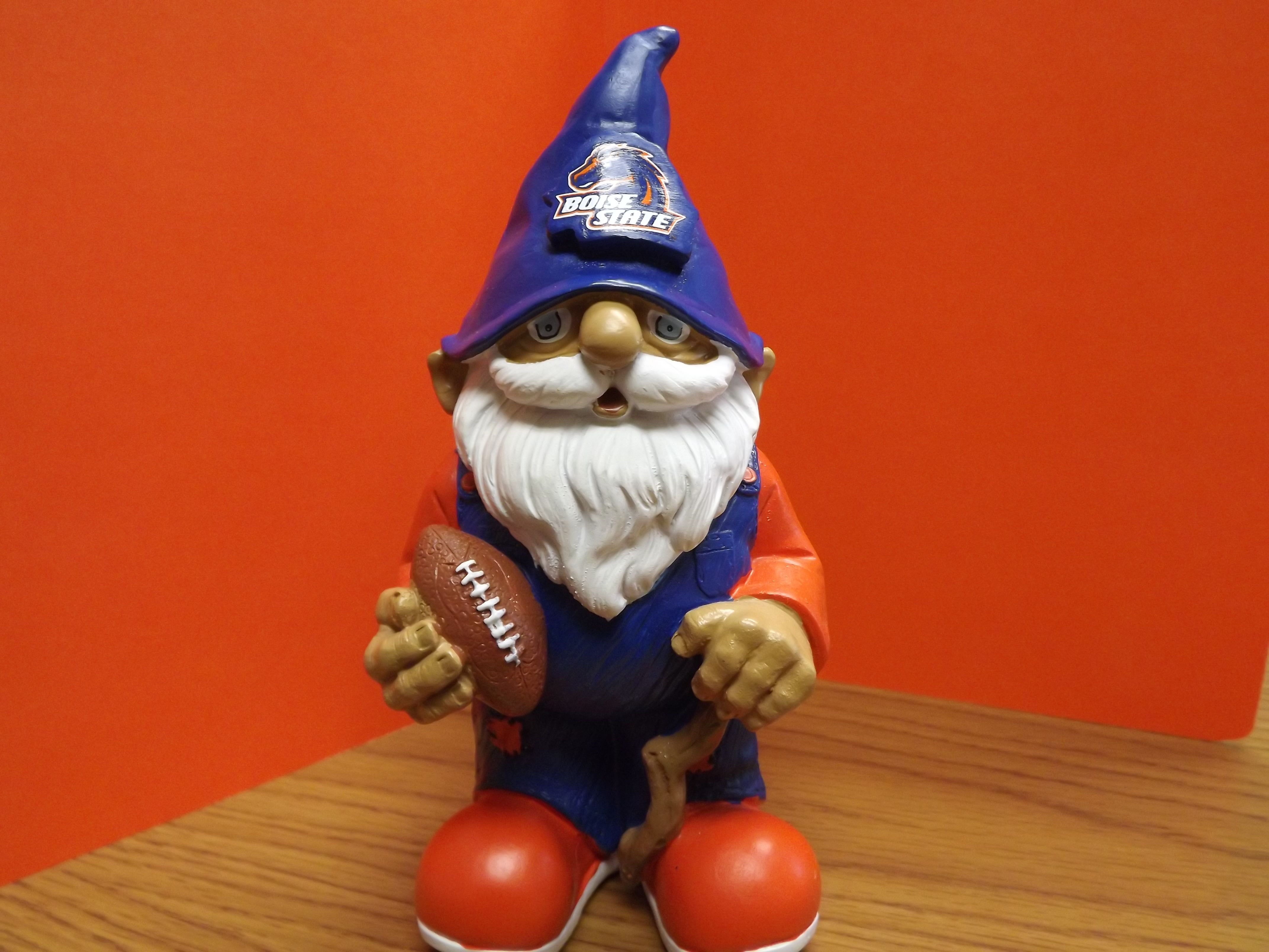 Boise State Gnome...great for showing your loyalty in the