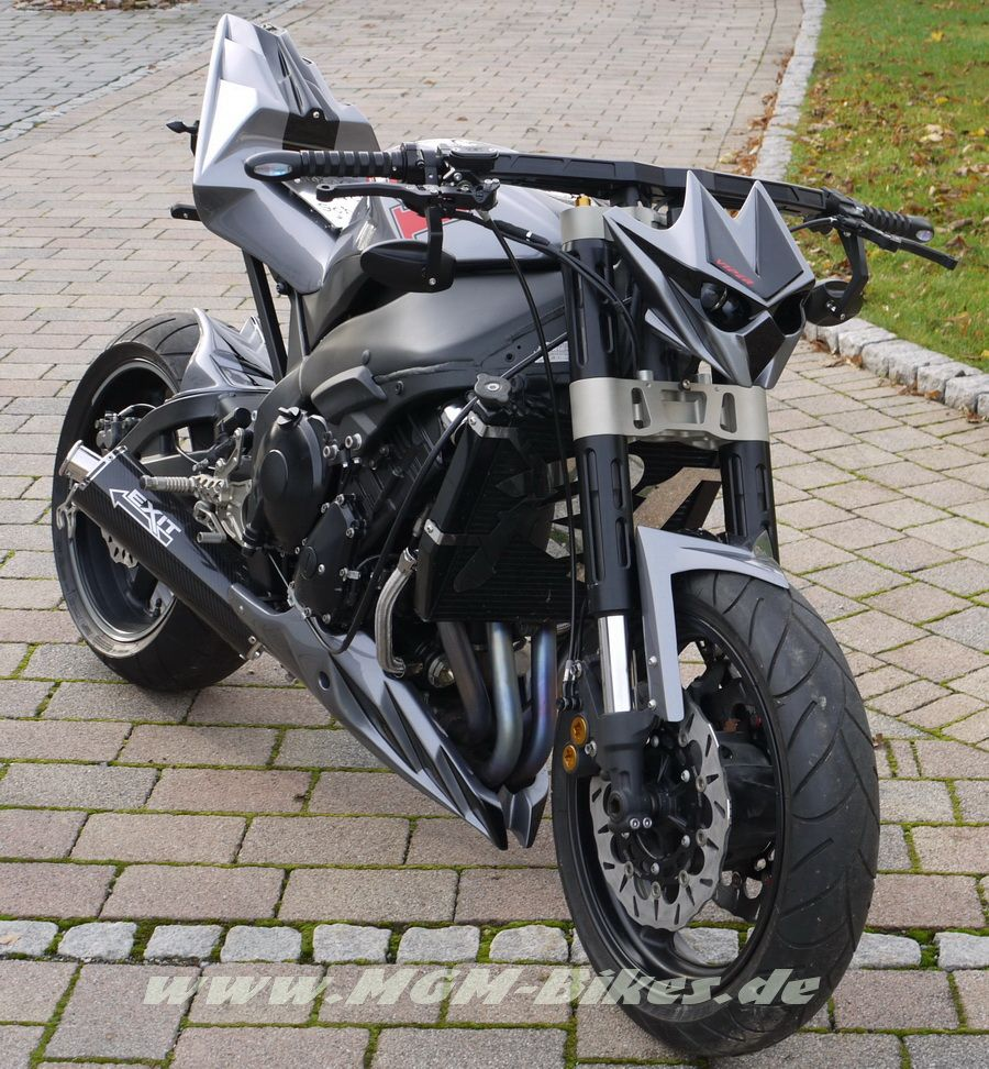 Best motorcycle handlebars - Kickass Handlebars Custom Fighters Custom Streetfighter Motorcycle Forum