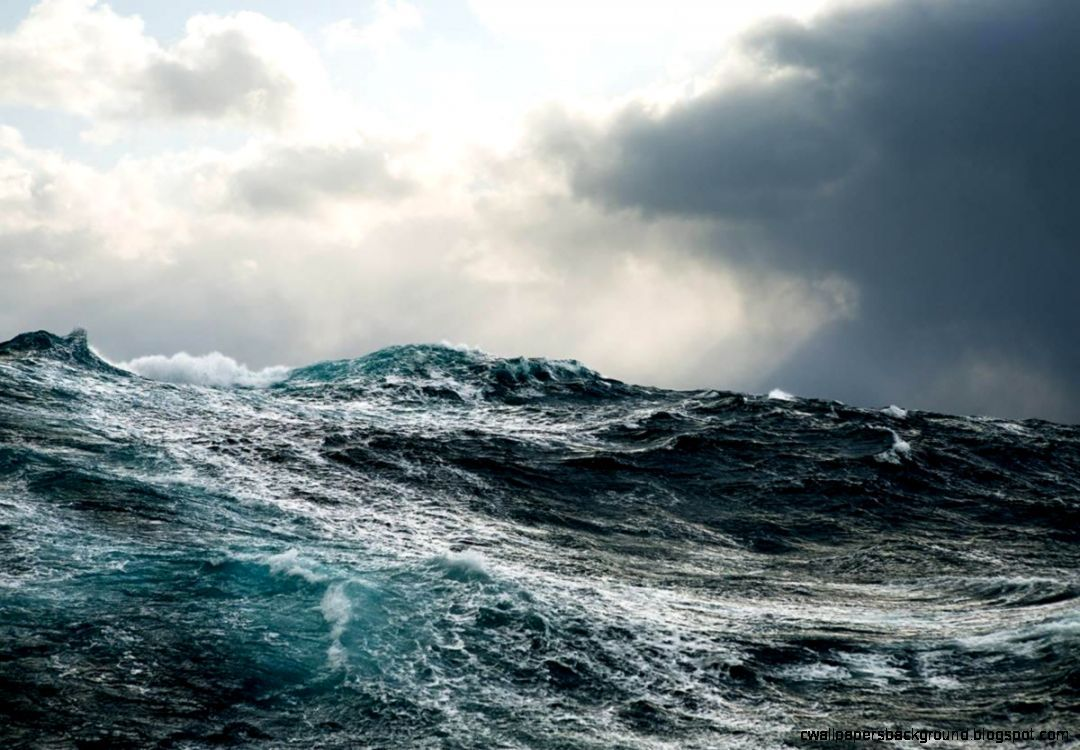 Ocean Storm Waves Wallpaper High Resolution Ocean Storm Ocean