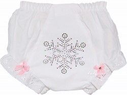 Diaper Covers Pink Snow Bling Diaper Cover