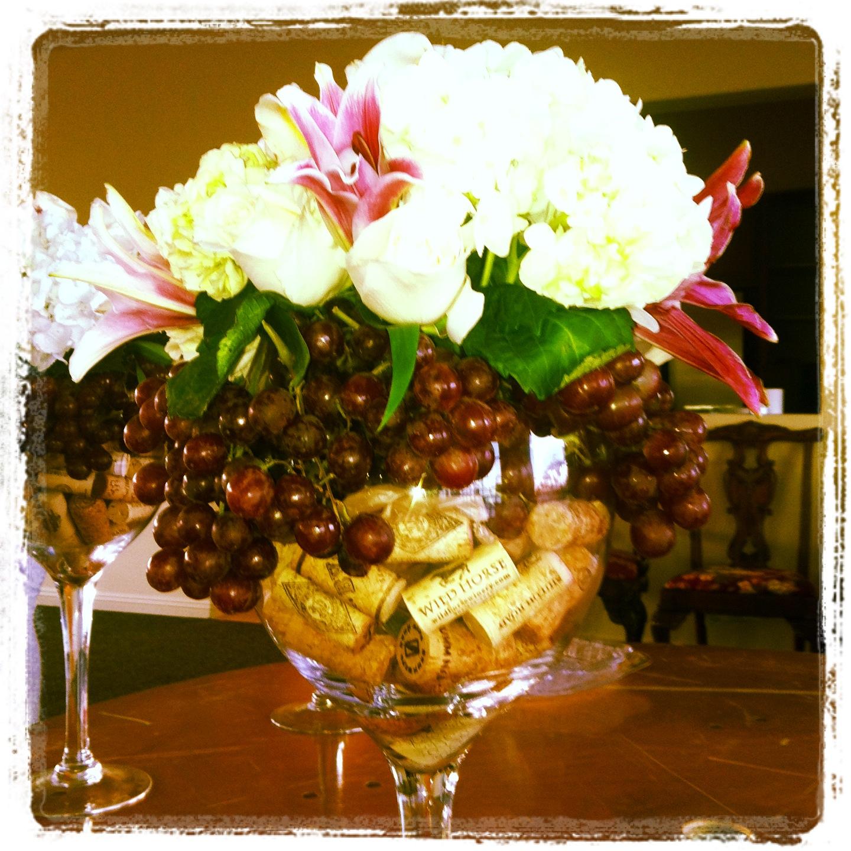 Wine Wedding: Wine Theme Shower, Candle