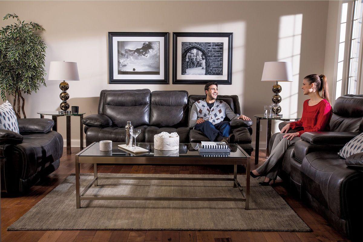b83db27a46f921 ... Power Reclining Sofa. The headrest area fully. Jasper from Gardner-White  Furniture