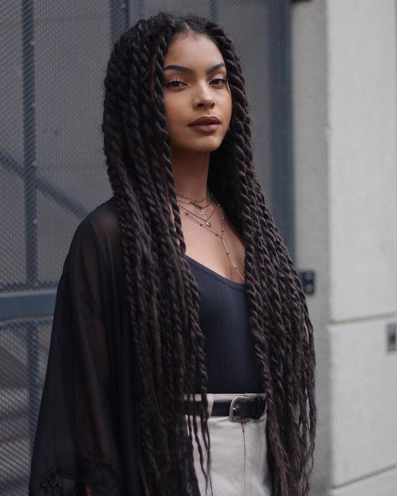 5 Super Hot Braided Hairstyles For Long Hair 2019 for you : Take a look! #longboxbraids