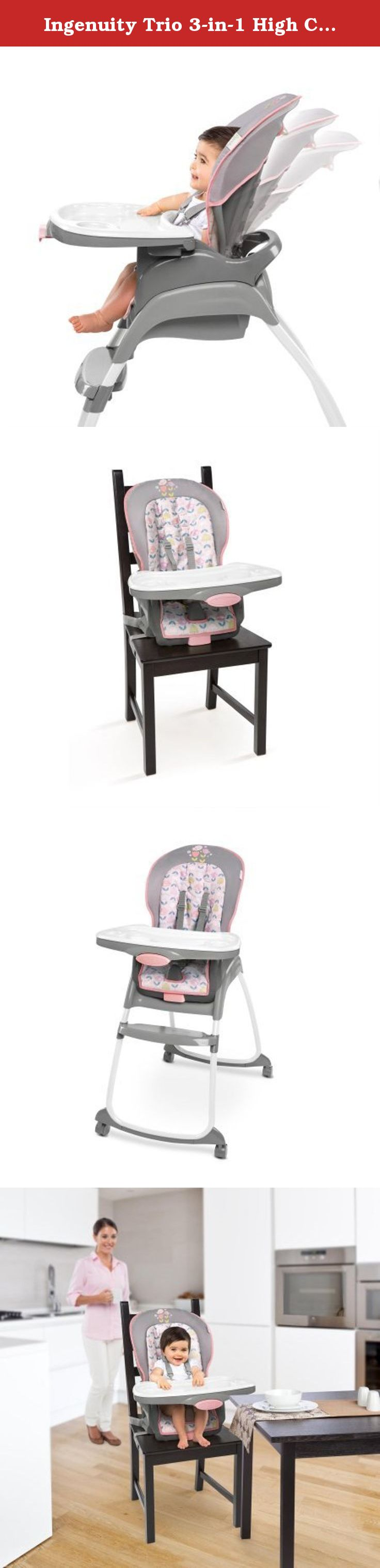 b311b222431a Ingenuity Trio 3-in-1 High Chair - Ansley. The Ingenuity Trio 3-in-1 ...