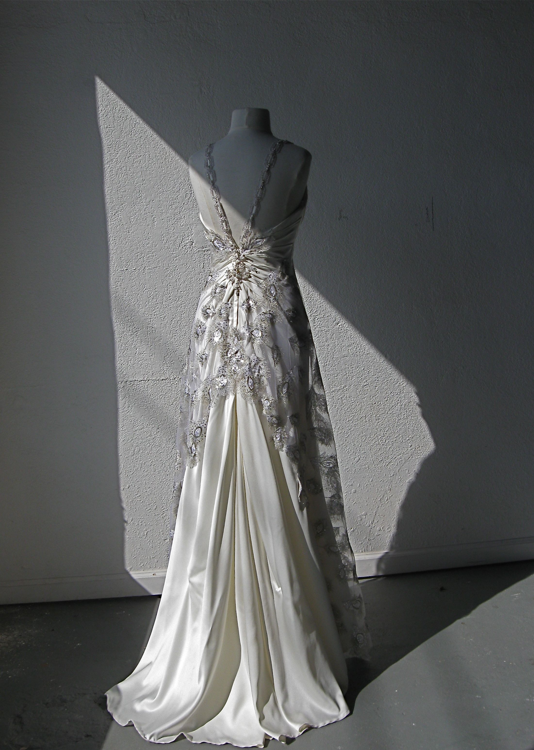 White Orchid Bridal RestorationRedesigned Wedding Gown by Colleen