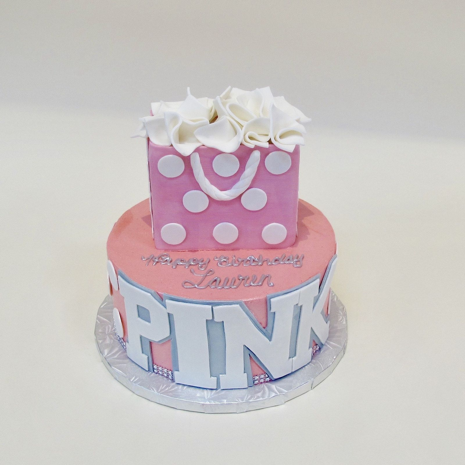 Pink Birthday Cake Cakes Adult Calumet Bakery Creative